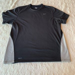 Men's Nike FitDri Gray workout top size XL
